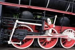 Rocznik parowa lokomotywa obraz stock