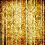 Rocznik paskująca tapeta Obraz Royalty Free
