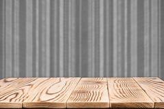 Rocznik paskująca wzór ściana Fotografia Royalty Free