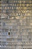 Rocznik pisze list ABC Zdjęcia Stock