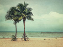 Rocznik plaża obrazy royalty free
