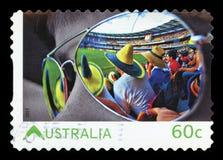 Rocznik pocztówka - odosobniona zdjęcie royalty free