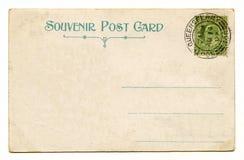 Rocznik pocztówka Fotografia Stock