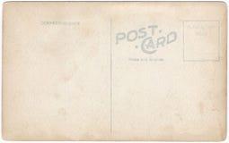 Rocznik pocztówki plecy grafika 1900s-1910 Obraz Stock