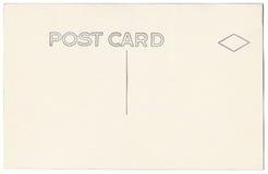 Rocznik pocztówki plecy grafika 1900s-1910s Obrazy Royalty Free