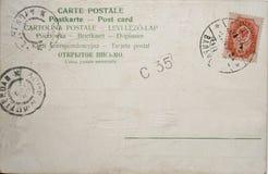 rocznik pocztówkowy Fotografia Stock