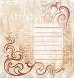 Rocznik pocztowy jest Valentin ` s dzień Zdjęcie Stock