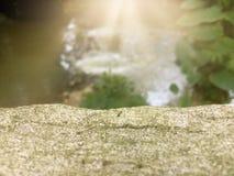 Rocznik podłoga cement dla miejsca everything fotografia royalty free