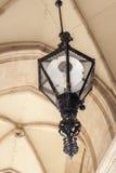 Rocznik podsufitowa lampa Zdjęcie Royalty Free