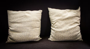 Rocznik poduszka na kanapie Zdjęcia Royalty Free