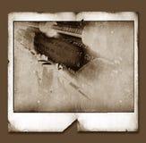rocznik polaroidu ramowy ilustracja wektor