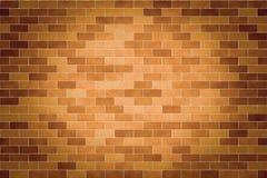 Rocznik powierzchnia ściana z cegieł Obrazy Royalty Free