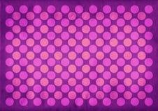 Rocznik purpur okregów wzór Zdjęcie Royalty Free