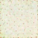 Rocznik róży papieru podławy tło Zdjęcie Royalty Free