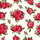 Rocznik róż wzór Fotografia Royalty Free