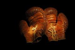rocznik rękawic bokserskich Obraz Royalty Free