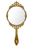 Rocznik ręki lustro Obrazy Royalty Free
