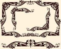 Rocznik ram kąty Zdjęcie Royalty Free
