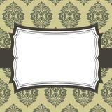 Rocznik rama royalty ilustracja