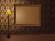 rocznik ramowa wisząca ściana Obraz Royalty Free