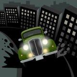Rocznik, retro samochód Zdjęcia Royalty Free