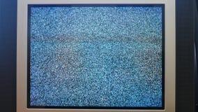 Rocznik retro stylowa stara telewizja bez sygnału zdjęcie wideo