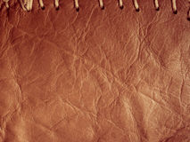 Rocznik skóra obraz stock