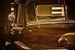 Rocznik stara ciężarówka Fotografia Royalty Free