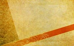 Rocznik stara pocztówka royalty ilustracja