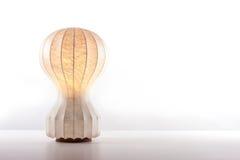 Rocznik stołowa lampa Zdjęcie Royalty Free
