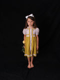 rocznik sukienkę Fotografia Royalty Free