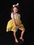 rocznik sukienkę Obrazy Royalty Free