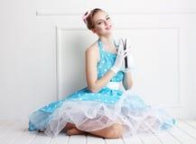 Rocznik suknia Fotografia Royalty Free