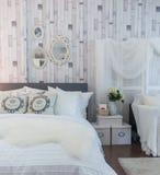 Rocznik sypialnia Fotografia Stock