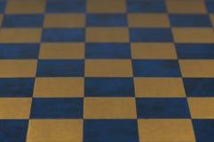 Rocznik szachowej deski tekstura Zdjęcia Stock