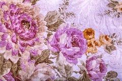 Rocznik tapeta z kwiecistym wiktoriański wzorem Zdjęcia Royalty Free