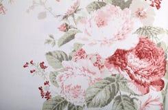 Rocznik tapeta z kwiecistym wzorem Obraz Royalty Free
