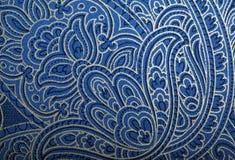 Rocznik tapeta z winieta wzorem Zdjęcia Royalty Free