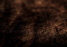 Rocznik tekstura korowaty drewniany naturalny tło, ciemnego brązu colo Obrazy Stock