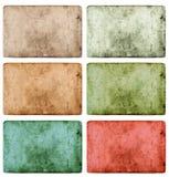 Rocznik tekstury grunge barwiący papierowy tło Fotografia Stock