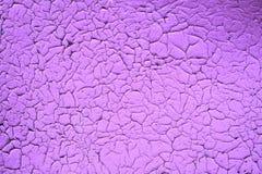 Rocznik tekstury stara lila farba Fotografia Royalty Free