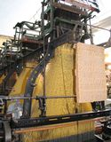 Rocznik Tekstylna maszyna obrazy royalty free