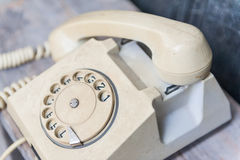rocznik telefonu Fotografia Royalty Free
