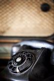 rocznik telefonu Fotografia Stock