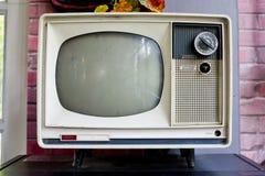 Rocznik telewizja Zdjęcia Stock