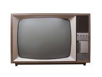Rocznik telewizja Obraz Royalty Free