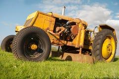 Rocznik trawy kosiarz Obraz Royalty Free