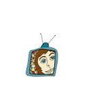 rocznik tv Zdjęcie Royalty Free