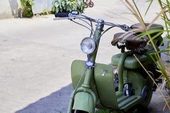 rocznik Włoska hulajnoga Lambretta fotografia royalty free