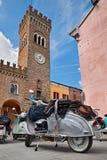 Rocznik włoskie hulajnogi w Bertinoro, emilia, Włochy obrazy stock